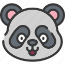 animal, animals, avatars, nature, panda, wildlife icon