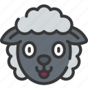 animal, animals, avatars, farm, sheep, wildlife