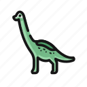 big, dino, dinosaur, jurasic park icon