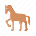 knight, chess, horse, animal, agriculture, farm, riding icon