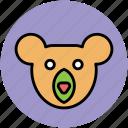 cartoon panda, cartoon panda face, panda, panda face icon