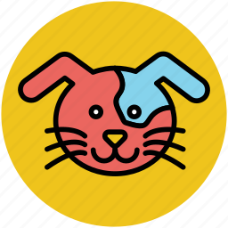 animal, animal face, cartoon cat, cat, cat face, comic, funny icon