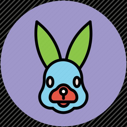 bunny, cony, hare, pika, rabbit, rabbit face icon