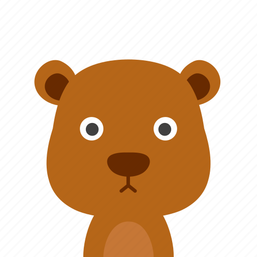 Bear, face icon - Download on Iconfinder on Iconfinder