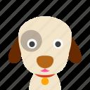 dog, face