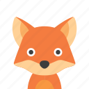 face, fox icon
