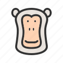 africa, animal, ape, baboon, baboons, face, park icon