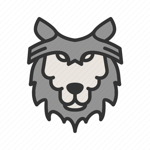 animal, forest, grey, mammal, wildlife, wolf, wolves icon