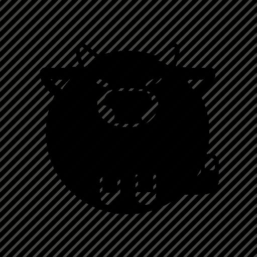 animal, bison, bull, mammal, ox icon