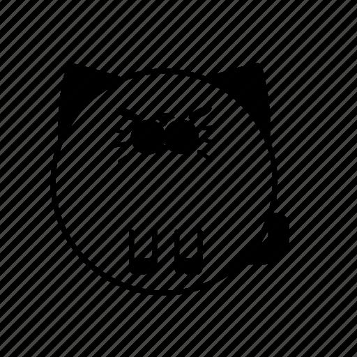 animal, cat, feline, furry, pet icon
