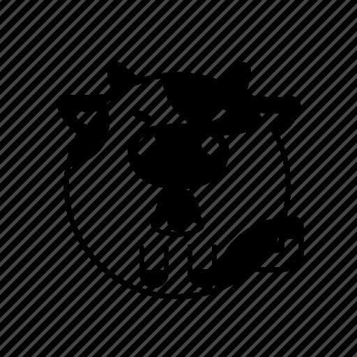 animal, cow, daily, farm, ox icon