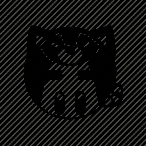 animal, mammal, raccoon, weasel, wild icon