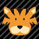 animal, cat, jungle, tiger, zoo icon