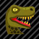 dino, dinosaur, fossil, reptile, snake, turtle, tyrannosaurus icon