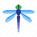 cream, dragonfly, drink, ice, summer, wildlife, wing icon