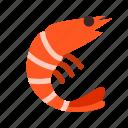 animal, food, lobster, marine, ocean, prawn, water icon