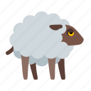 cattle, livestock, medieval, pet, pets, ram, sheep icon