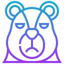 animal, bear, draw, stock, wild
