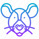animal, harmful, mouse, rat, rodent icon