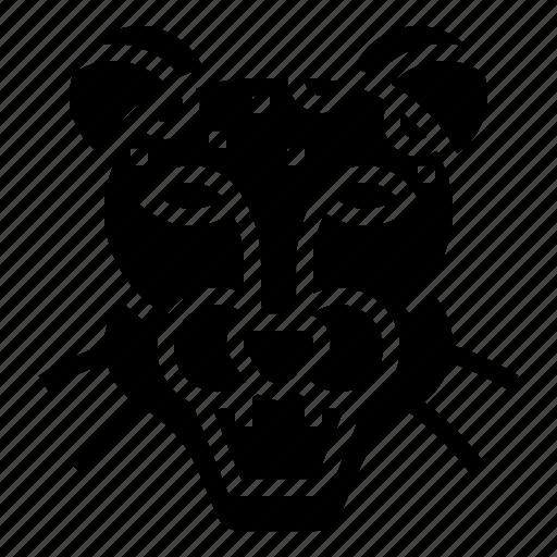 Africa, animal, jaguar, tiger, wild icon - Download on Iconfinder