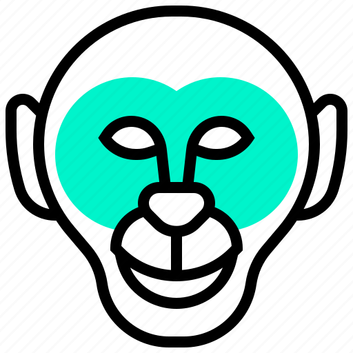 animal, lemur, monkey, primate, wild icon
