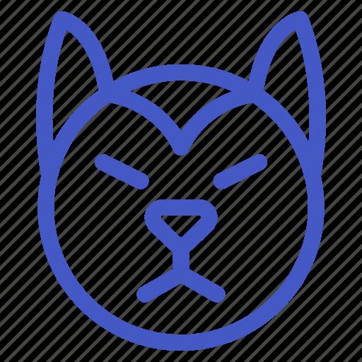 Animal, dog, husky, pet icon - Download on Iconfinder