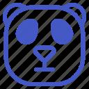 animal, asian, panda, wildlife, zoo icon