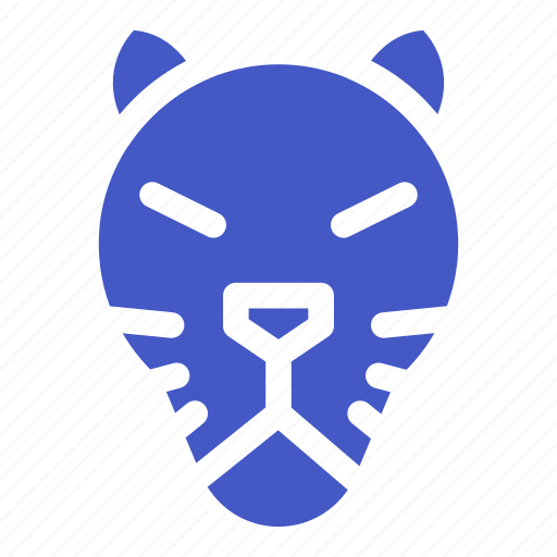 animal, jungle, tiger, wildlife, zoo icon