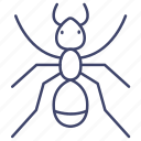 animal, ant, insect, termite icon