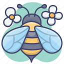 animal, bee, fly, insect