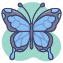 beautiful, butterfly, insect, moth icon