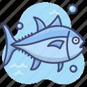 fish, salmon, seafood, tuna icon