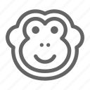 ape, chimp, monkey icon