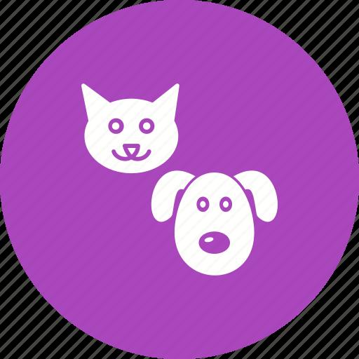 animal, cat, dog, dogs, kitten, pet, puppy icon