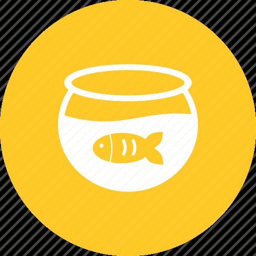 Aquarium, bowl, fish, fishbowl, pet, tank, water icon - Download on Iconfinder