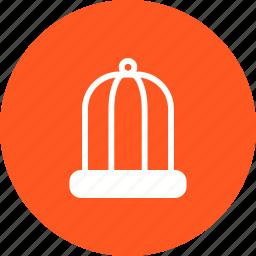 animal, bars, bird, birdcage, cage, cell, fence icon