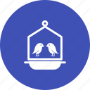 bird, birdhouse, birds, house, spring, tree, wood icon