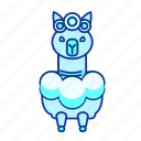 animal, blue, grass, horse, icon2, mud