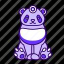 animal, icon2, panda