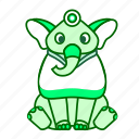 animal, elephant, icon2 icon