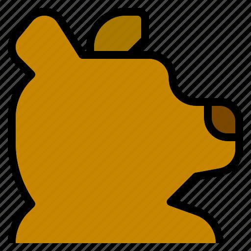 animal, bear, kingdom, mammal, teddy, wild, zoo icon