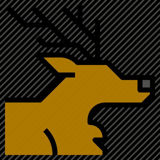 animal, animals, deer, life, mammal, wild, zoo icon