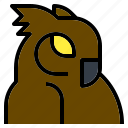 animal, animals, bird, kingdom, parrot, pet, zoo icon