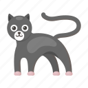 animal, cat, cute, panther, predator, toy icon