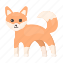 animal, cute, fox, toy icon