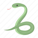 animal, cobra, cute, snake, toy icon