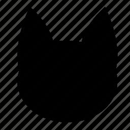animal, cat, face, feline icon