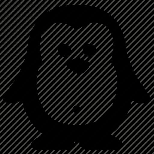animal, body, face, pinguin icon