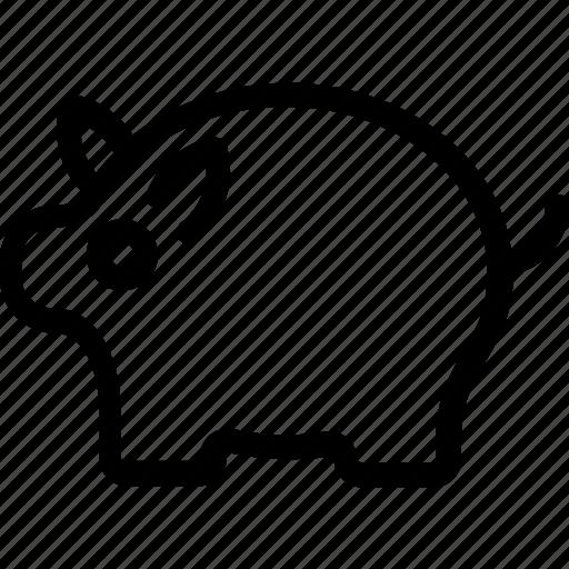 animal, boar, mammal, pig, tapir icon