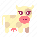 cow, milk icon